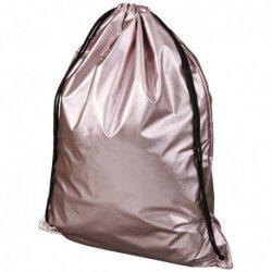 Błyszczący plecak ze sznurkiem ściągającym, ORIOLE