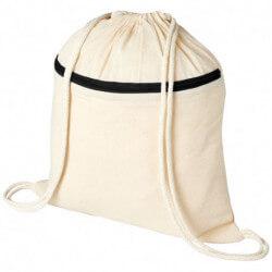 Plecak z zamkiem błyskawicznym i sznurkiem ściągającym, OREGON