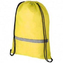 Plecak ze sznurkiem ściągającym i paskiem odblaskowym, ORIOLE
