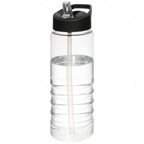 Bidon 750 ml z wieczkiem z dzióbkiem, H2O TREBLE