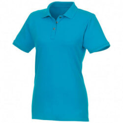 Beryl short sleeve women's GOTS organic GRS recycled polo
