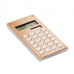 8-cyfrowy kalkulator bambusowy, CALCUBAM