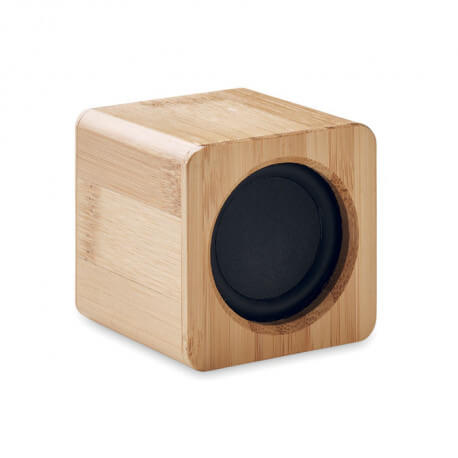 Głośnik bezprzewodowy, bambus, AUDIO