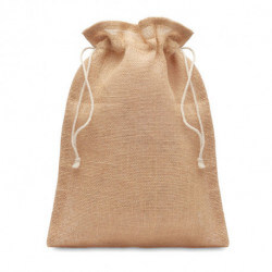 Średnia torba prezentowa z juty, JUTE MEDIUM
