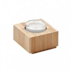 Bambusowy świecznik na tealight, LUXOR