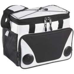 Titan ThermaFlect® 24-can cooler bag with speakers