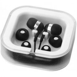 Słuchawki douszne z mikrofonem, SARGAS