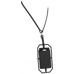Fort-rock silicone RFID card older with lanyard