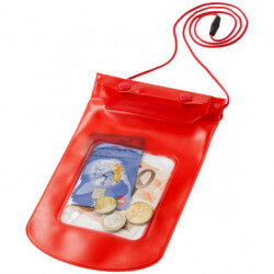 Cancun storage pouch with lanyard