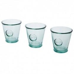 3-częściowy zestaw szkła z recyclingu o pojemności 250 ml Copa