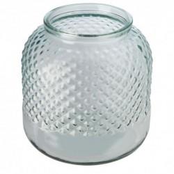 Świecznik ze szkła z recyklingu Estar