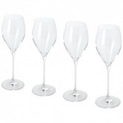 Sereno 4-częsciowy zestaw kieliszków do wina prosecco
