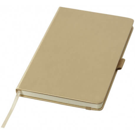 Metaliczny notatnik A5