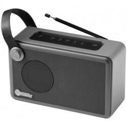 Radio z budzikiem i głośnikiem Bluetooth, WHIRL