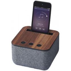 Materiałowo-drewniany głośnik Bluetooth®