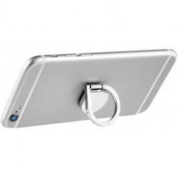 Aluminiowy uchwyt na telefon z kółkiem
