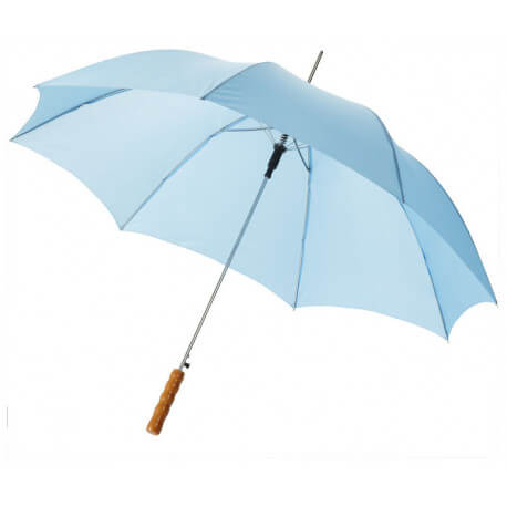 "Lisa 23"" automatic umbrella with wooden handle"