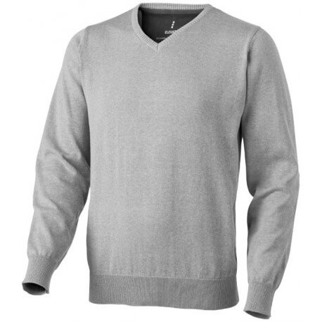 Męski pulower z dekoltem w serek, SPRUCE