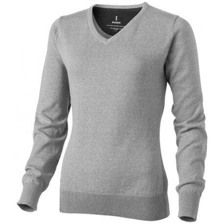 Damski pulower z dekoltem w serek, SPRUCE