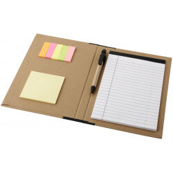 Ranger cardboard portfolio with A5 notepad