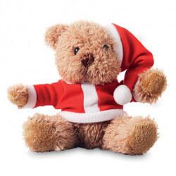 Miś w świątecznym ubranku.     CX1395-, CLAUSI