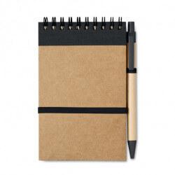 Notes z długopisem z recyklingu, SONORA