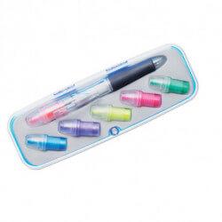 Długopis z zakreślaczem 2 w 1, COMUTO