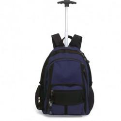 Dwukolorowy plecak na kółkach, CECINA