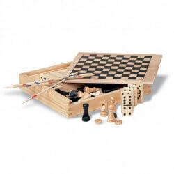 4 gry w drewnianym opakowaniu, TRIKES