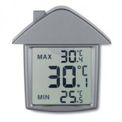 Termometr z przyssawką w kształcie domu, TERMOHOUSE