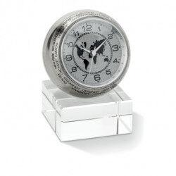 Analogowy zegar biurkowy, WORLDTIME