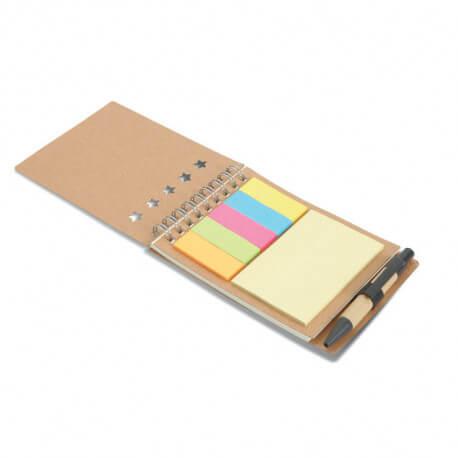 Notes z długopisem i karteczkami samoprzylepnymi, MULTIBOOK