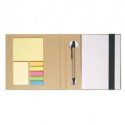 Notes z recyklingu z karteczkami i długopisem, QUINCY
