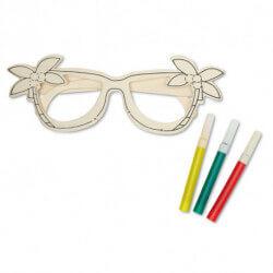 Drewniane okulary dziecięce, BRELI