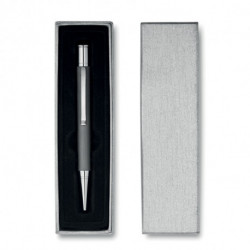 Aluminiowy długopis w pudełku, SILVER