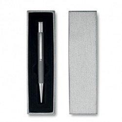 Aluminiowy długopis w etui, SILVER