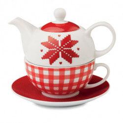 Zestaw do herbaty z nordyckim wzorem, NORDIC TEA