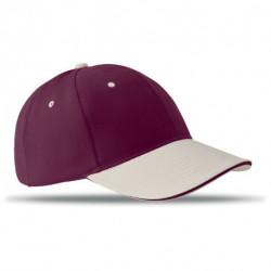 Czapka baseballowa 6 paneli, b, SOLE CAP