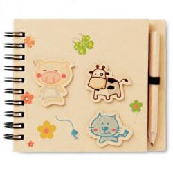 Notatnik dla dzieci z ołówkiem, PIGGY