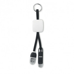 Brelok USB typ C, KEY RING C