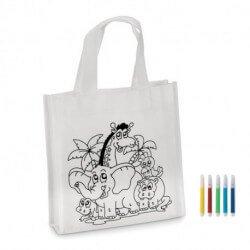 Mini torba - kolorowanka z mazakami, SHOOPIE