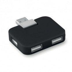 Hub USB 4-portowy, SQUARE