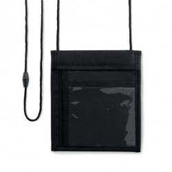 Nylonowy portfel na szyję, FERIA WALLET