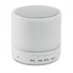 Okrągły głośnik LED na Bluetooth, ROUND WHITE
