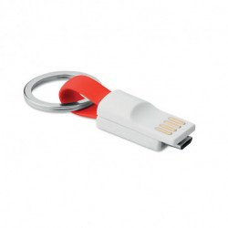 Brelok USB/microUSB, MINI