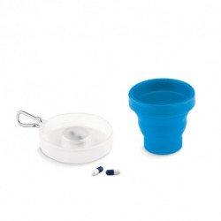 Składany kubek silikonowy, CUP PILL