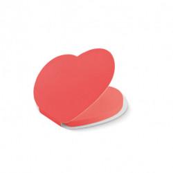 Notes samoprzylepny serce, LOVE