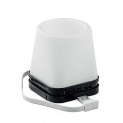 Hub USB 4-portowy - pojemnik na długopisy, FUJI