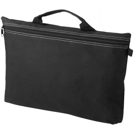 Orlando zippered conference bag with pen loop