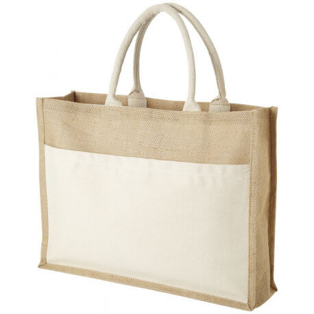 Mumbay tote bag made from jute